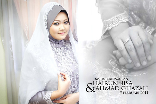 Hairunnisa engagement
