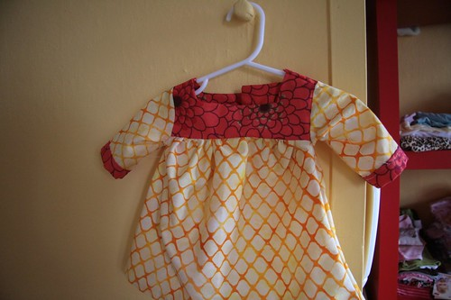 More sewing for baby girl.