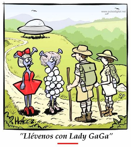 Llévenos con Lady GaGa