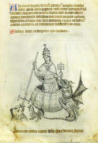 024-VadSlg Ms. 342- ©St. Gallen Kantonsbibliothek Vadianische Sammlung-Vaticinia de pontificibus-f 11