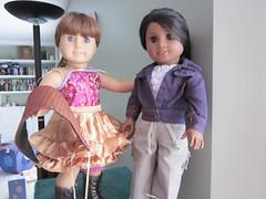 Secret Snarkster Swap (Poddiepea) Tags: sonali sara dolls americangirl