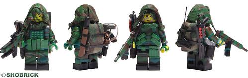 Custom minifig Navy Seals full gear custom minifig