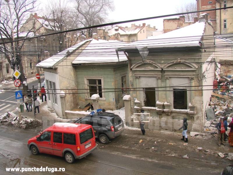 strada berzei demolari ianuarie 2011