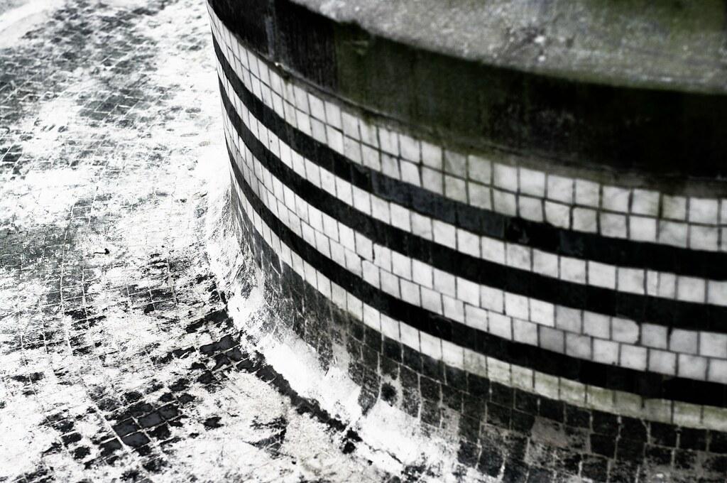 dry fountain on Binnenhof