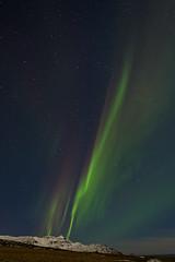 Aurora borealis (*Jonina*) Tags: longexposure winter sky mountains night iceland ísland auroraborealis vetur nótt himinn fjöll norðurljós fáskrúðsfjörður faskrudsfjordur jónínaguðrúnóskarsdóttir