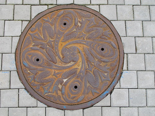 Manhole cover, Susan Point