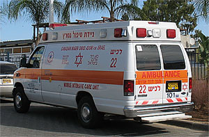 амбуланс, МАДА, скорая помощь, маген давид адом