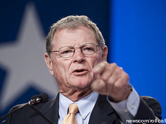 Image of Jim Inhofe from Talking Points Memo
