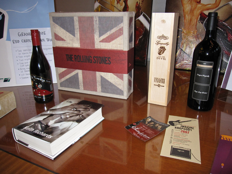 Rolling Stones collection - silent auction