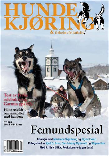 Hundekjøring-Norway-Femundlopet-Sigrid-Ekran-Røros-Cover-2011