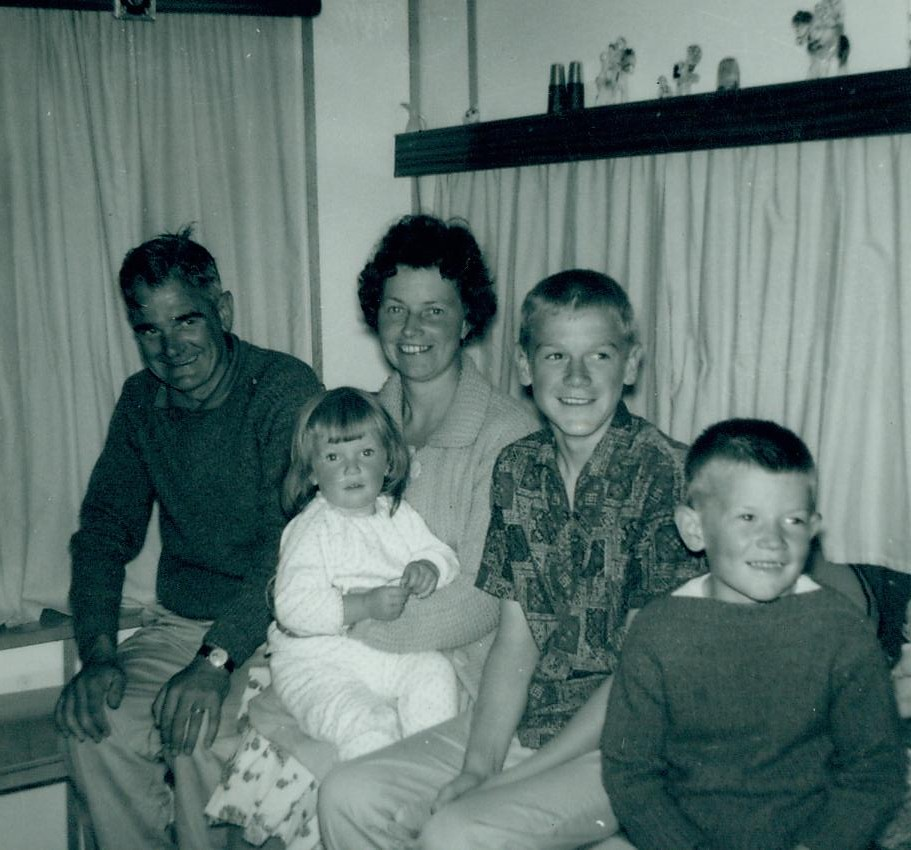 Douglas McCreath and Family 1963
