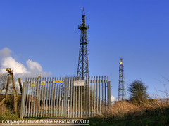 Disused Timber Tower - Coldblow Lane (Daveyboy_75) Tags: kent mod mast masts northdowns maidstone coldwar radiostation radiotower coldblowlane detling defenceestates rafcoldblowlane