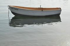 bote (ghaliwey) Tags: barco reflejo punta ria umbra