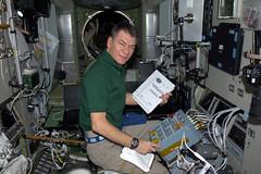 This is where we will sit to monitor ATV (astro_paolo) Tags: nasa atv iss esa zvezda internationalspacestation europeanspaceagency paolonespoli