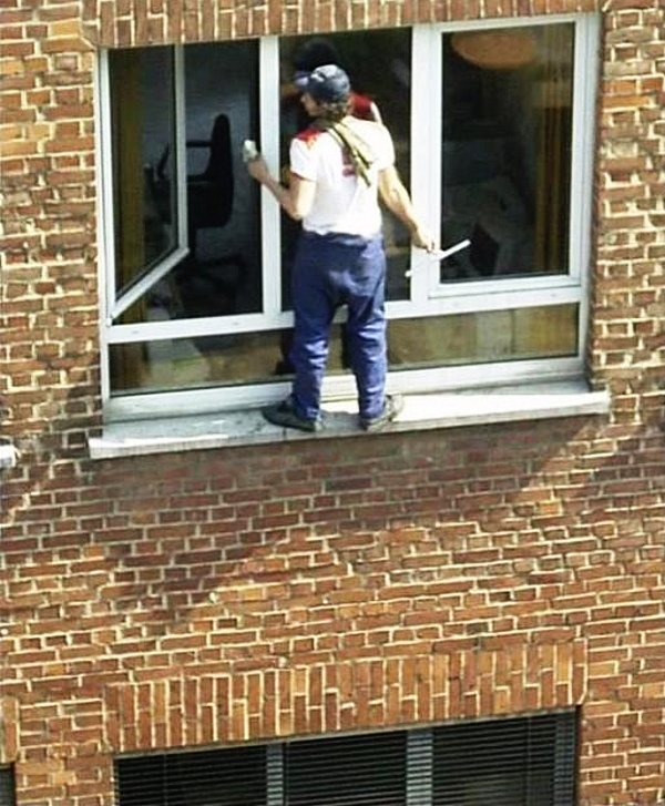 How Not To Clean A Window