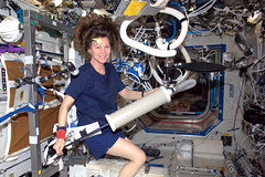 @Astro_Cady uses the syringe! (astro_paolo) Tags: nasa atv iss esa docking cadycoleman internationalspacestation europeanspaceagency expedition26 magisstra