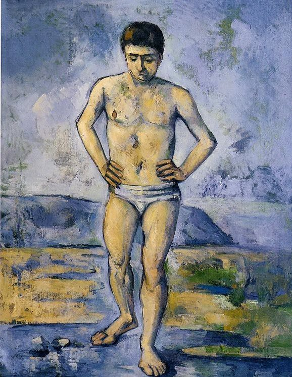 The Large Bather Paul Cézanne