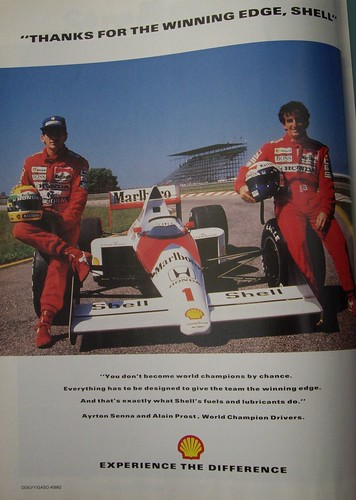 Shell F1 advert