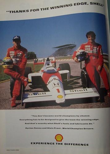Shell F1 advert