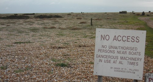 Dungeness - no access