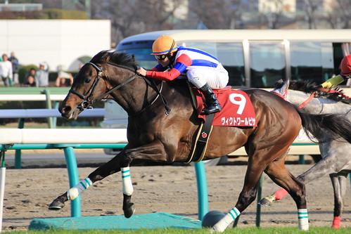 中山記念勝ち馬 ヴィクトワールピサ(M.デムーロ)2