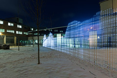 20 December, 17.01 (Ti.mo) Tags: light lightpainting oslo norway night iso100 wifi wireless interactiondesign urbancomputing ubicomp  0ev immaterials ef24mmf14liiusm wifilightpainting 720secatf22