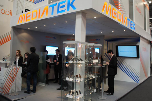 2011 MWC MediaTek booth