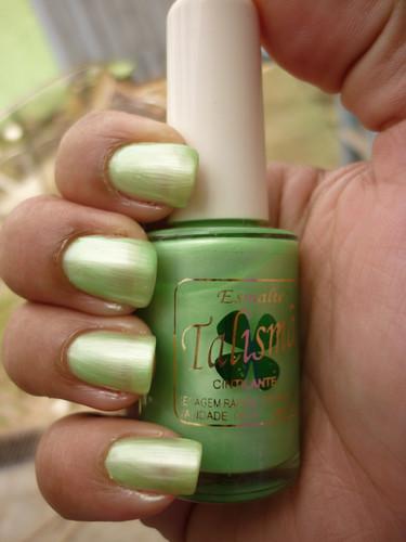 Talismã - Verde Perolado