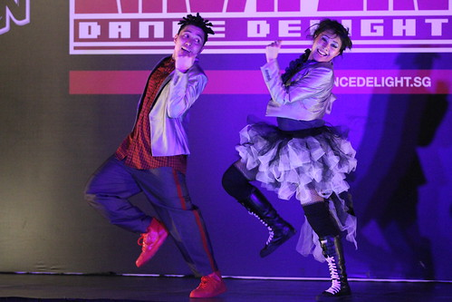 Finalists Burning Bums blazing the stage for Singapore Dance Delight