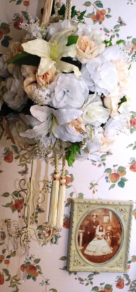Silk Flower Pomander