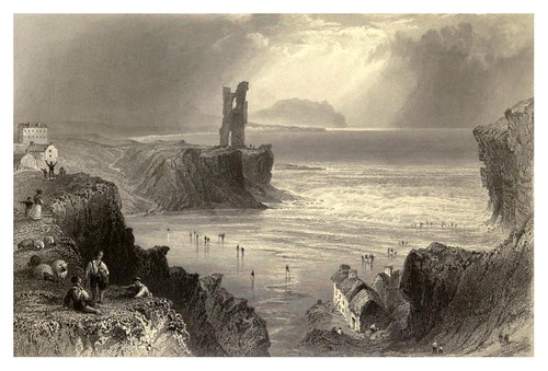 018-Ballybunnian-The scenery and antiquities of Ireland -Vol II-1842-W. H. Bartlett