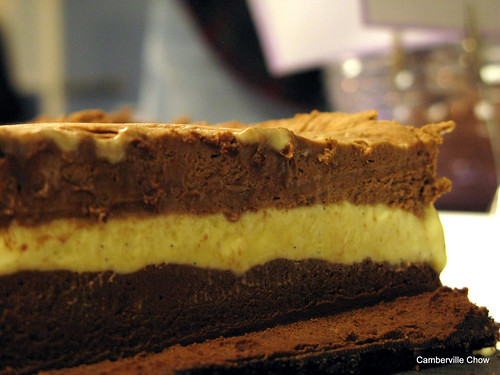 triple chocolate parfait
