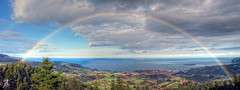 POR FIN !!!!!!!!!!!! (Urugallu) Tags: arcoiris flickr valle colores euskalherria paisvasco bermeo urugallu oltusfotos mygearandme canrtabrico canonpowershopg12