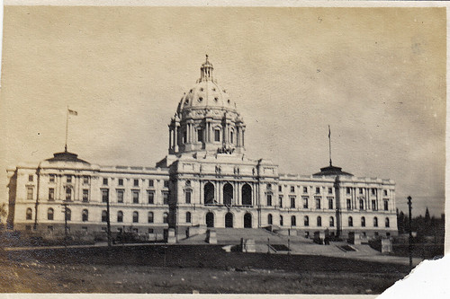 State Capitol, St Paul, Minnesota. October 1909.