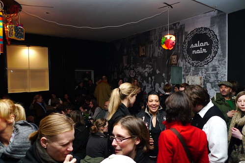 Salon Noir des Artistes Neueröffnung. Februar 2011