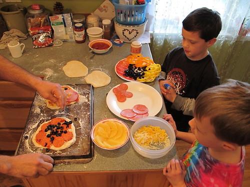 Picasso Pizza Preparation