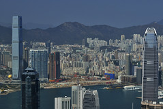 Hong Kong Skyline _HXT1917 (ohmytrip) Tags: china city travel sea vacation hk skyline architecture modern buildings landscape hongkong cosmopolitan holidays asia cityscape skyscrapers harbour central thepeak sardines northpoint victoriaharbour highangle hksar kowloonbay hongkongskyline gettyimageschinaq1