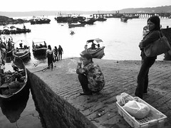 R0014101_bw (Peijin Chen) Tags: ocean china travel bw fish water island fishing chinese snaps tropical chinadigitaltimes volcanic nanning beihai guangxi ricohgrd
