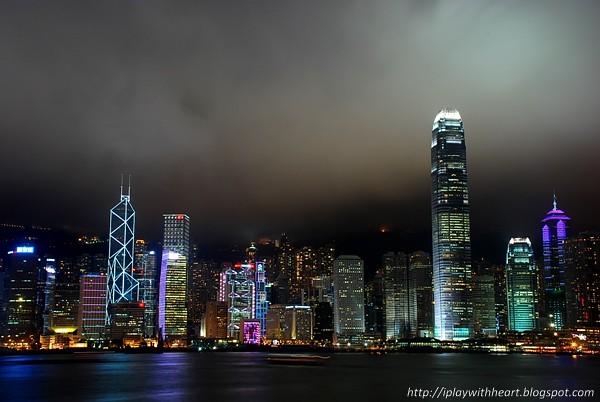 星光大道香港夜景