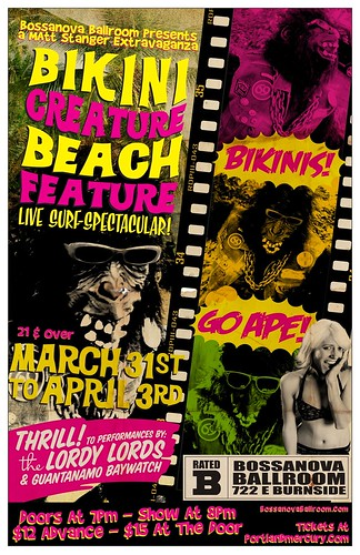 Bikini Creature Beach Feature
