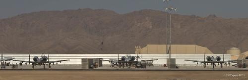 A-10 Warthhogs afar (KAF) by pjTAVERA
