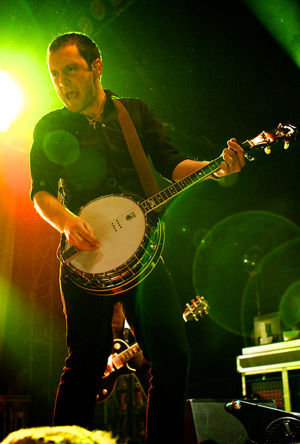Jeff DaRosa of The Dropkick Murphys