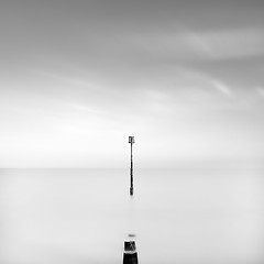 The Point (Michael Diblicek) Tags: blue sky blackandwhite white black cold beach grey kent big high long exposure skies post tide clear northsea lee deal filters channel stopper groynes lamanche