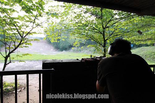 gerald at shooting range