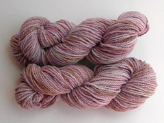Raspberry Chip on Cestari Fine Merino