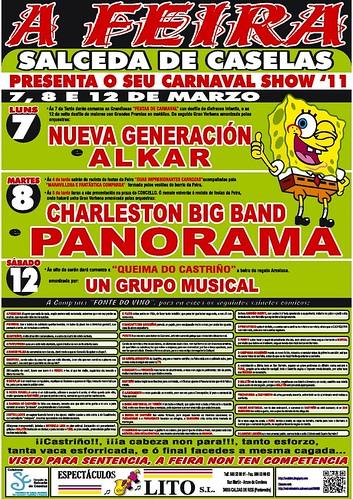 Salceda de Caselas 2011 - Entroido A Feira - cartel