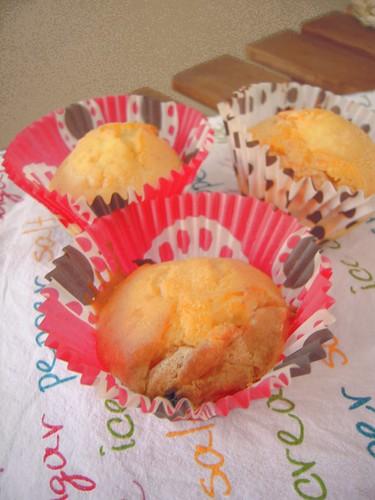 muffin cioccolato bianco e pere