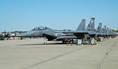 F-15E Strike Eagle (rcsadvmedia) Tags: fighter eagle aircraft northcarolina strike boeing squadron lancers f15 mcdonnelldouglas f15e strikeeagle fightersquadron 333rd seymourjohnsonairforcebase 4thfighterwing 333d photobychristianshepherd photographbychristianshepherd rcsadvmedia rcsadventuremedia