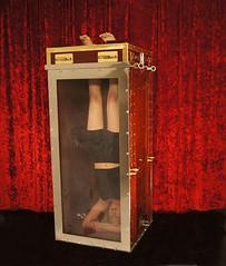 Houdini Chinese Water Torture Cell Tribute (SherryandKrallMagic) Tags: water female underwater magic extreme locks sherry handcuffs escapes krall houdini dayle harryhoudini richardsherry watertorturecell daylekrall themagicofsherryandkrall femaleescapology femaleescapeartist femalehoudini breathholdartist