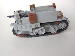 Bren Carrier Mk I - 01 (Carpet lego) Tags: dog cool lego yo ww2 universal carrier bren